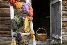 natural dyeing / by Gwendolen Elliott