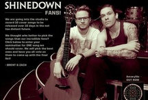 SHINEDOWN / by YARA†ROCK