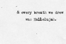 From your lips they drew the hallelujah / by Caitlin O'Connor