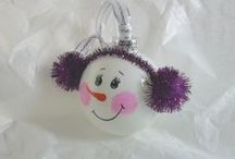 Christmas Ornaments / I Love all Types of Handmade Ornaments / by Barbara Palmer