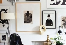 gallery walls / by monkivintage