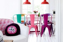 colorful spaces / by monkivintage