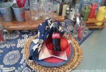 Napkin table attire / by Julie Unvert