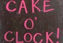 """Piece Of """"CAKE""""OR """"PIE"""" / CAKE or PIE / by Caren Quadros (Davis)"""