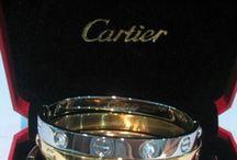 CARTIER$$ / Cartier Jewlery / by Caren Quadros (Davis)
