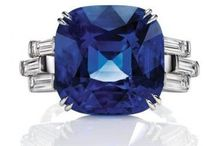 Diamond And Sapphire & just Sappire / Sapphire And Diamonds / by Caren Quadros