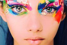Lips#Eyes#Nails#Costume Makeup DESIGN / All kind of makeup/design / by Caren Quadros (Davis)