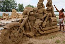 Sand Art / Sand Art / by Caren Quadros (Davis)