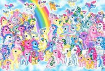 My Little Pony / Pretty Pony / by Caren Quadros (Davis)