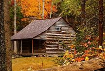 ~Seasons at the Cabin~ / by Kellie@SouthernSashay