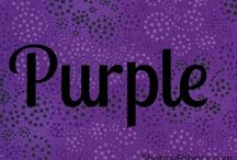 "All Things ""PuRpLe"" / All shades of PURPLE / by Caren Quadros"