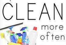 Cleaning / by Kelly R. Klug