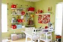Craft room ideas / by Rachel Alexandre