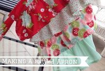 A Girl Can Never Have Too Many Aprons / by Connie Herron
