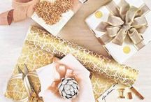 All About PRESENTation / Unique ways to wrap your gifts like no one else! / by BOSTON PROPER