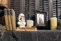 Halloween Mantels  / Ideas for decorating my Mantel / by Bernice Price East