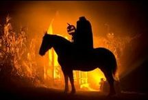 Sleepy Hollow Headless Horseman / Sleepy Hollow Dining Room Décor and Front Yard Display / by Bernice Price East