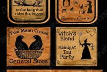 Halloween Potion Labels / by Bernice Price East