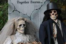 Halloween Haunted Wedding / Halloween Wedding Front Yard Display, Til Death Do Us Part  / by Bernice Price East
