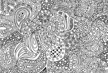 Doodles / Inspiration for doodles and zentangles! / by Melissa Jo Cady