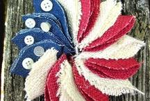 Patriotic / Good ol' Red, White & Blue! / by Christina at I Gotta Create!