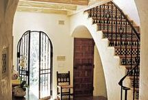 Mediterranean Spanish Tuscan Home Design / by Zaida San Gil