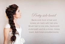 Hair / Hair I love. Braids. Updo's. Beach Hair. Indie Girl Hair Ties. / by Indie Girl Hair Ties