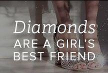 Diamonds Are a Girl's Best Friend / by Gemvara.com
