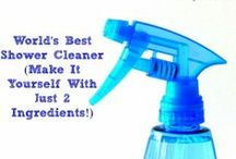 Make Your Own Cleaning, Beauty, Household Products / Make your own cleaning, beauty, and household products and save yourself money! Most of them will help you live a little greener as well. / by Natalie Hoage - Mommy of a Monster