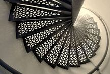 Architecture - Stairs / Stairs - inside and outside.  / by Andrew Borloz