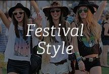 Festival Style / Warm weather and summer mean one thing: Music festivals! From Coachella to Bonaroo, we are inspired by the boho looks and the whimiscal fashion statements being made. Get inspired and create your piece of jewelry at Gemvara. / by Gemvara.com