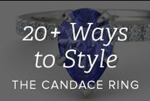 20+ Ways to Style the Candace Ring / The many ways you can make the Candace ring your own / by Gemvara.com