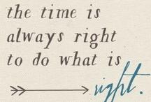 Quotes / by Ariel Corbett