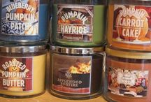 yankee and bath body candles  / by Amy Leann Doherty