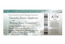 Weddings - Stationery - Invitations - Boarding Pass / by Liza