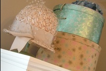 HAT PiNs, BOxeS & STanDs / by Terri Holaday