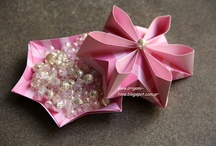 Origami box - caixa e utilidades / by Clara Angélica Souza