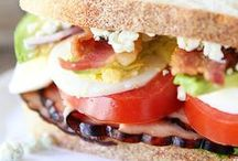 Yummy in the Tummy: Sammies. / Sandwiches, wraps, paninis, oh my! / by Sarah H