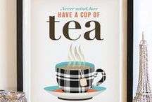 Tea Time / Fancy a cuppa? All sorts of things you need for a good cup of tea. / by Kaley S