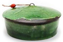 Lidded / covered. contained. with a lid. / by Birdie Boone