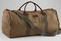 Stylin' Travel Bags / Travelling In & With Style / by Jane Borock