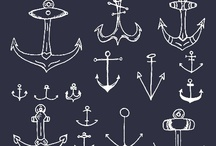 Nautical: From Sea to Closet / Anchors & Boat Shoes / by Jane Borock