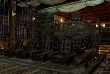 Our Exclusive Pirates Themed Room / Our exclusive Pirates of the Caribbean themed home theater room / by Elite Home Theater Seating