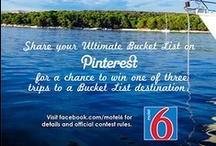 Motel 6 Ultimate Bucket List Contest / #Motel6UBL / by Sweet Confections