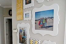 Frame It- Wall Display Inspiration / by Jessica Bookout