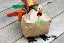 Thanksgiving Crafts and Kid Recipes / by booturtle