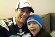 Charger Fan Photos / Fans all over San Diego showed off their love for the Bolts during the 2013 season -- here are some of our favorite Chargers fan photos submitted by CBS News 8 viewers.  / by CBS 8 - San Diego News