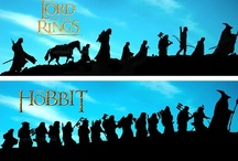 Lord of the Rings And the Hobbit / by Rachel Valdes
