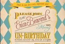 Invite & Announcement Ideas / by Rochelle Jackman