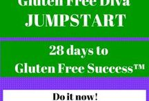 Gluten Free Diva Programs / Ditch the bloat and headaches and joint pain and digestive issues. Sleep better and get a handle once and for all on the food intolerances that are keeping you from doing the things you want to do.  / by Gluten Free Diva